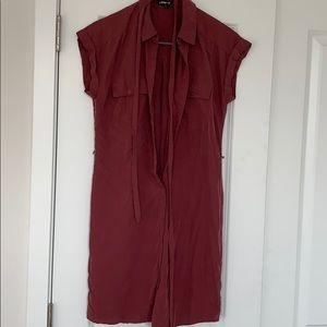 Express tie dress